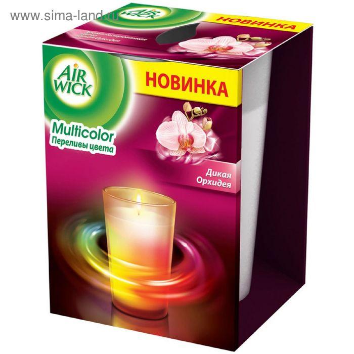 """Ароматизированная свеча Airwick """"Переливы цвета: дикая орхидея"""", 155 г"""