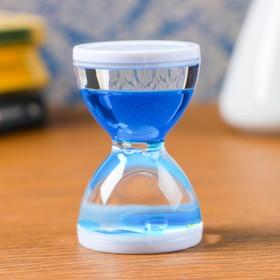 """Песочные часы """"Бордерия"""", гелевые, 7 х 5 см, на 1 минуту, микс"""