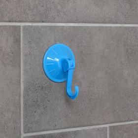 Крючок на вакуумной присоске «Моно», цвет МИКС Ош