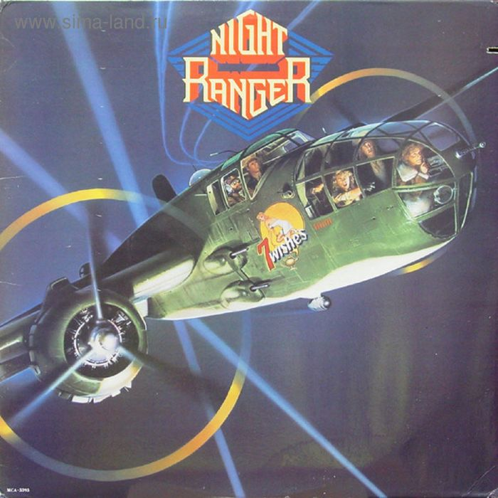 Виниловая пластинка Night Ranger - Midnight Madness BOOK