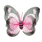 "Карнавальные крылья ""Бабочка"", цвет розовый"