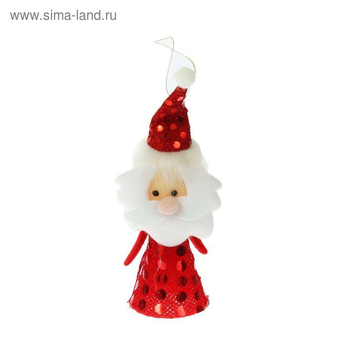 """Новогодняя игрушка-прыгун """"Дед Мороз"""", цвета МИКС"""