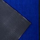 Коврик придверный влаговпитывающий, ребристый, «Стандарт», 80×120 см, цвет синий - фото 4657133