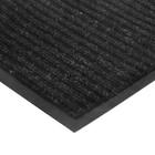 Коврик придверный влаговпитывающий, ребристый, «Стандарт», 120×250 см, цвет чёрный - фото 4657141