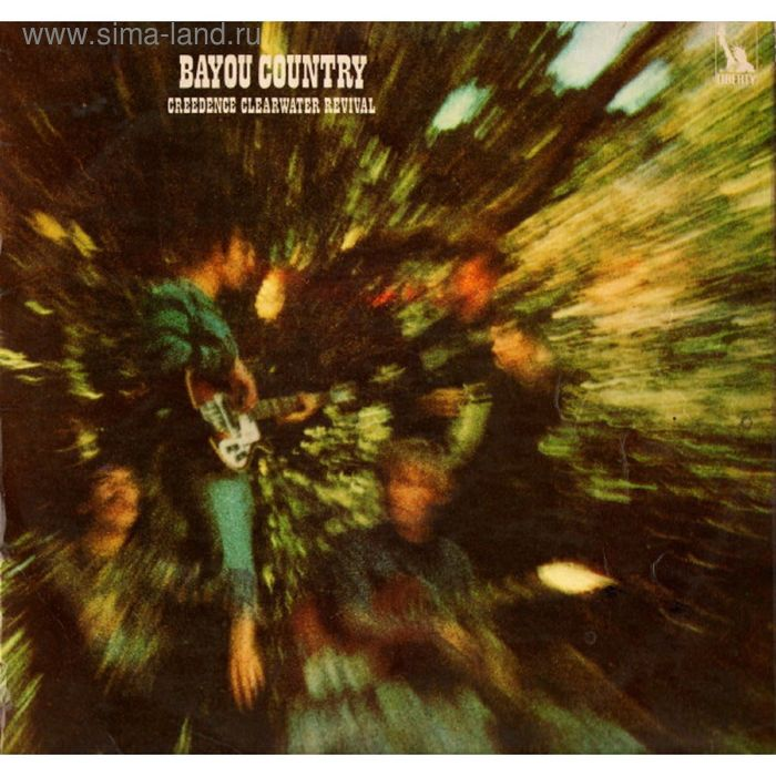 Виниловая пластинка Creedence Clearwater Revival - Bayou Country