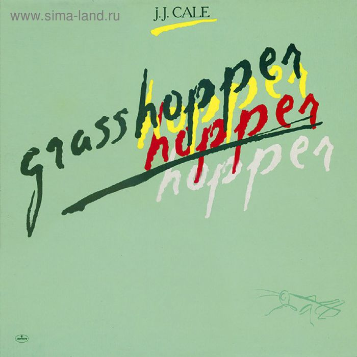 Виниловая пластинка J.J. Cale - Grasshopper