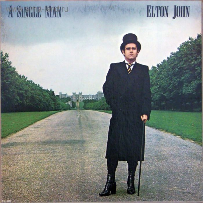 Виниловая пластинка Elton John - A Single Man