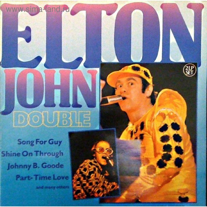 Виниловая пластинка Elton John - Double 2LP 1978/1979 HELP 2
