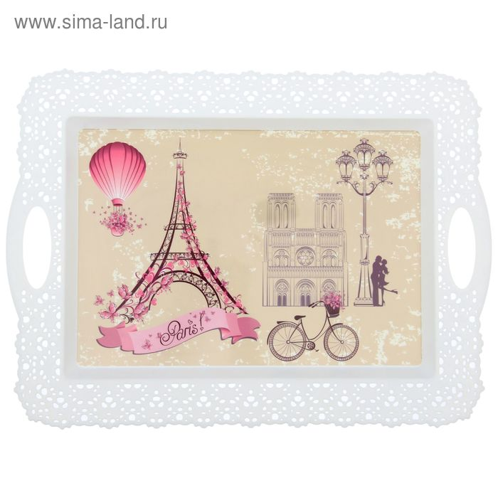 "Поднос 44 см×32 см ""Париж"""