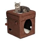 Домик для кошек Midwest Currious Cat Cube, 38,4 х 38,4 х 42 см