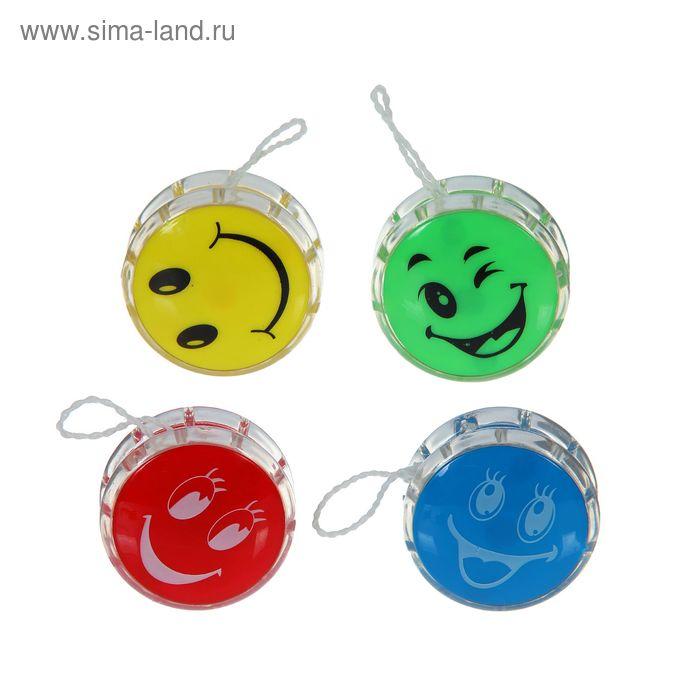 "Йо-йо ""Смайл"", цвета МИКС"