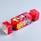 """Коробка подарочная """"С Новым счастьем!"""", Микки Маус и друзья, 11 х 5 х 5 см"""