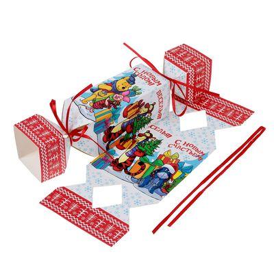 """Коробка подарочная """"Радости!"""", Медвежонок Винни и его друзья, 11 х 5 х 5 см"""