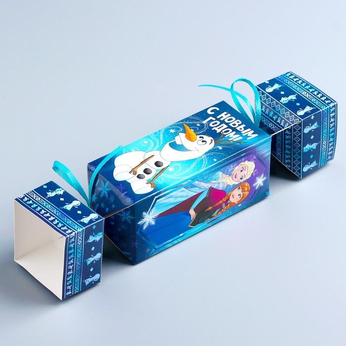 """Коробка подарочная """"С Новым Годом"""", Холодное сердце , 11 х 5 х 5 см"""