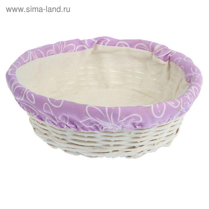 Корзинка для фруктов и хлеба с салфеткой 27,5*10 см