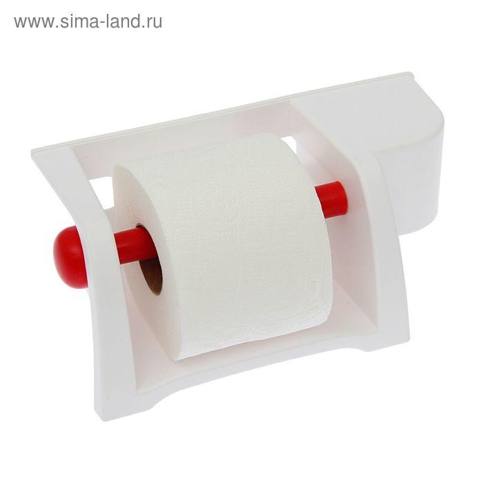 """Полка для туалета """"Mira"""", цвет снежно-белый"""