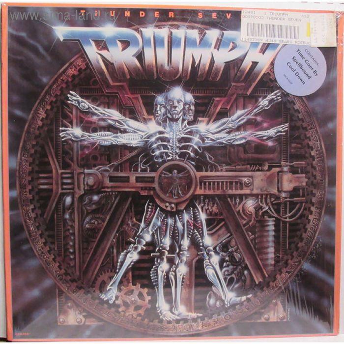 Виниловая пластинка Triumph - Thunder Seven