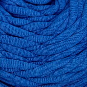 Пряжа трикотажная широкая 50м/170гр, ширина нити 7-9 мм (070 синий) МИКС