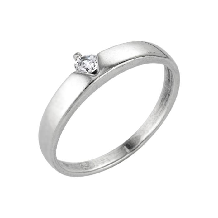 Кольцо ''Классическое'', посеребрение с оксидированием, 19 размер 1557911