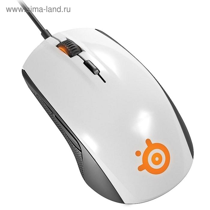Мышь Steelseries Rival 100 62335, белый, оптическая, USB