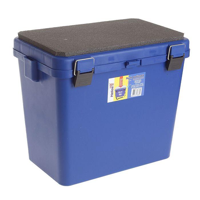 Ящик-М зимний односекционный Helios, цвет синий