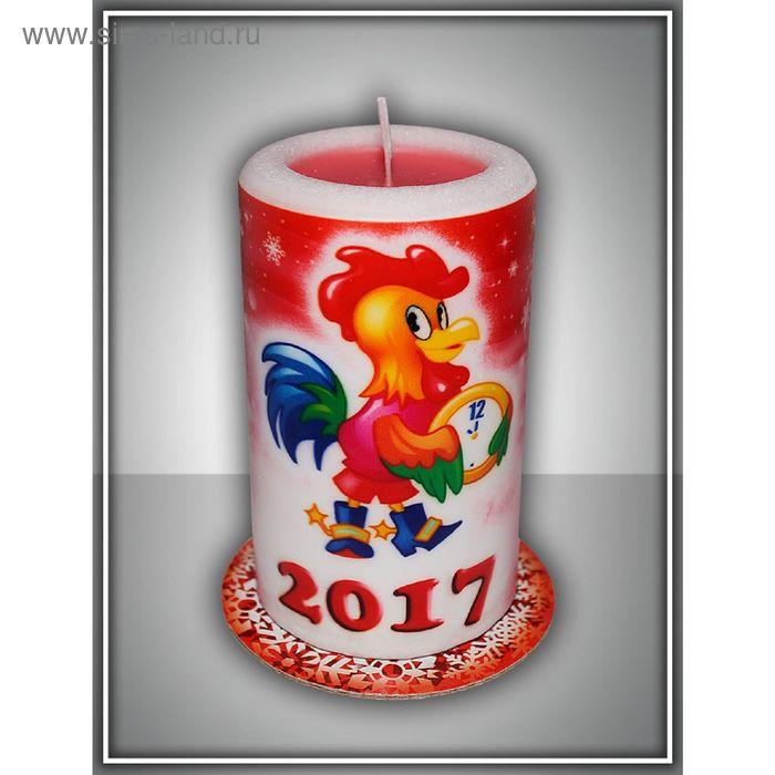 Свеча-сюрприз новогодняя арома №3