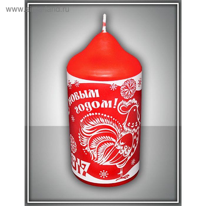 Свеча новогодняя пеньковая №3