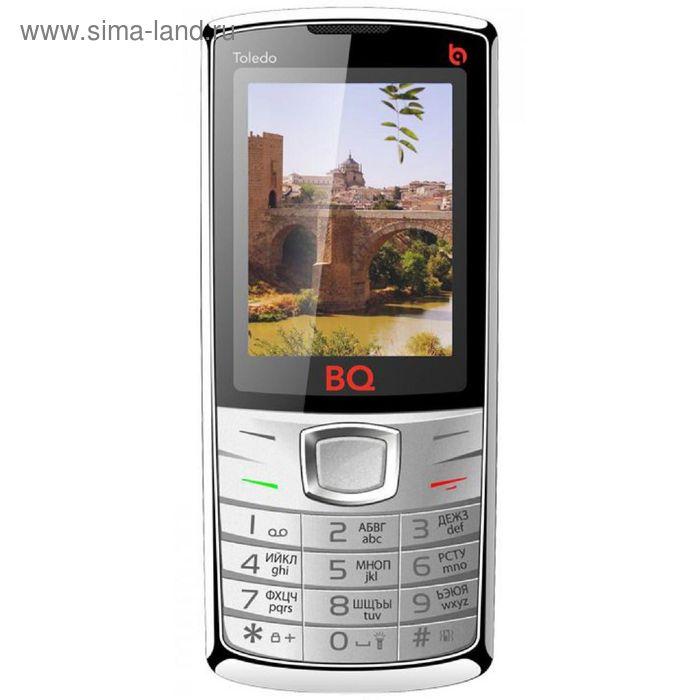 Мобильный телефон BQ M-2406 Toledo, серебристый