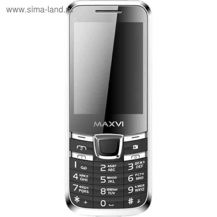 Мобильный телефон Maxvi K6, чёрный