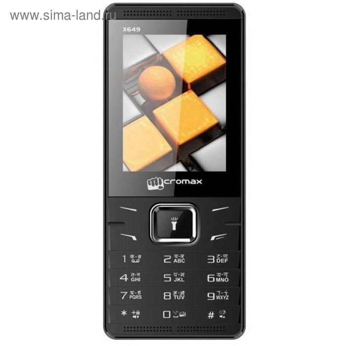 Мобильный телефон Micromax X649, белый