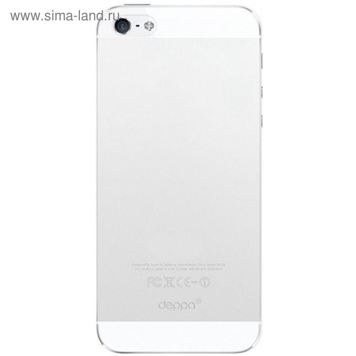 Чехол-крышка Deppa Sky Case iPhone 5/5S/SE прозрачная 0,3 мм