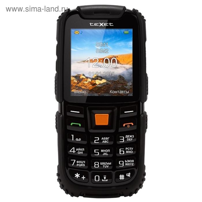 Мобильный телефон Texet TM-500R, чёрный