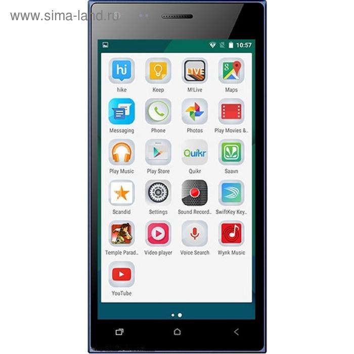Смартфон Micromax Canvas Xpress 4G Q413, синий