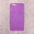 Чехол-крышка Deppa Sky Case iPhone 6 Plus 0,4 мм, фиолетовый