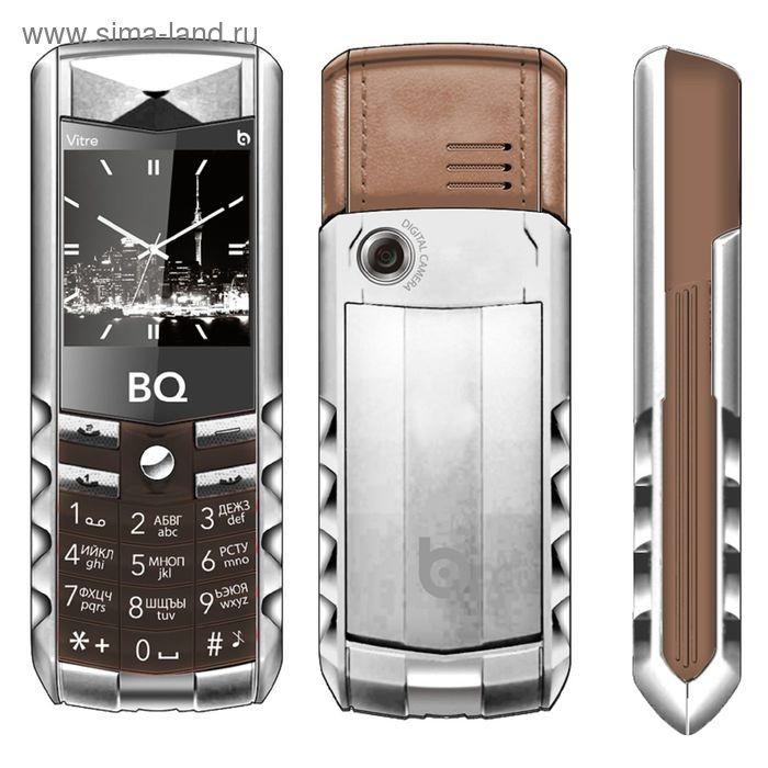 Мобильный телефон BQ M-1406 Vitre, коричневый