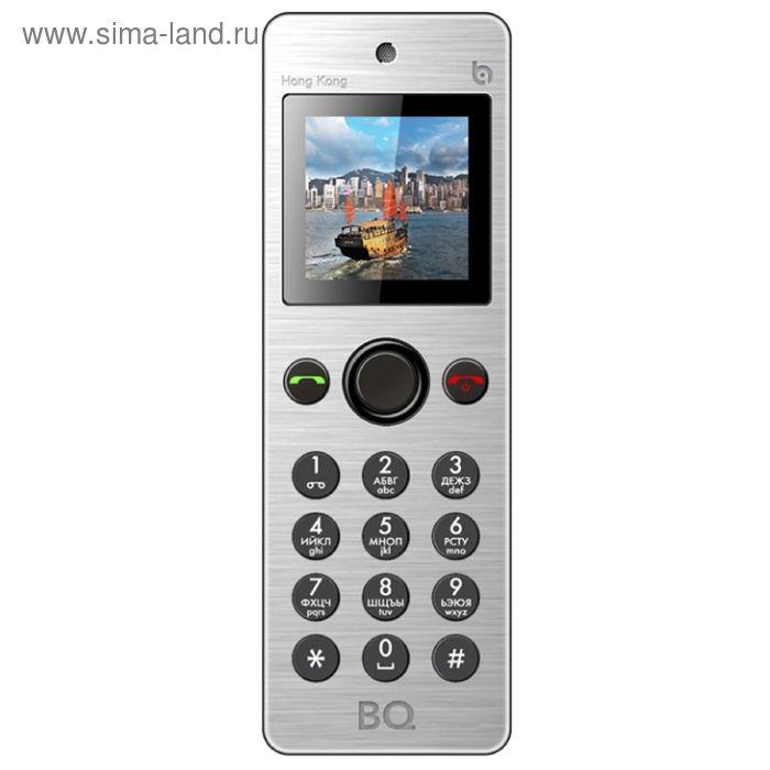 Мобильный телефон BQ M-1565 Hong Kong, серебристый