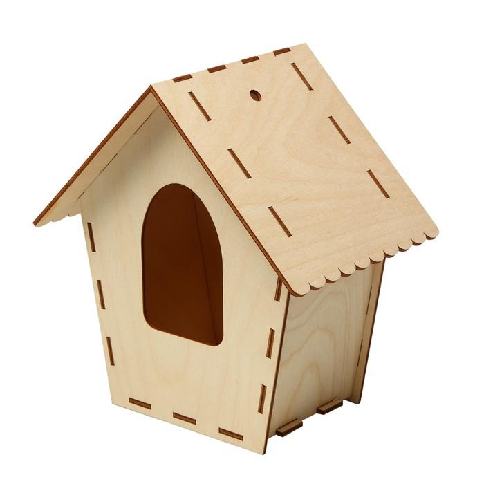 Скворечник для птиц 14*20*21,5 см