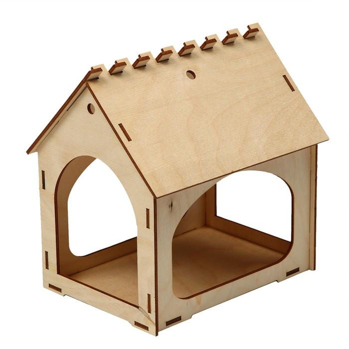 Кормушка для птиц 18,5*13,5*18,5 см