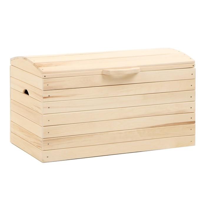 "Ящик для белья Сундук 100х57х53 см ""Добропаровъ"""