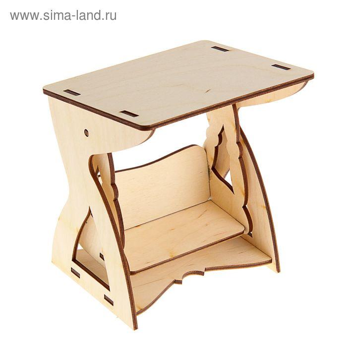 Заготовка Кукольная мебель Качель 16 см × 14 см × 12 см
