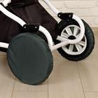 Чехлы на колёса детской коляски, набор 4 шт., полиэстер, цвета МИКС - фото 105546418