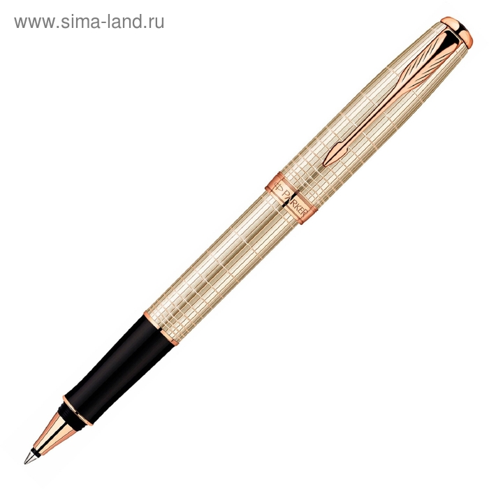 Ручка роллер Parker Sonnet T535 Feminine Silver PG (1859491_S) (F) чернила: черный