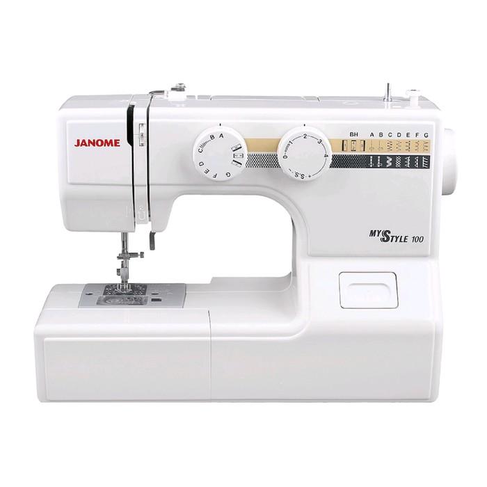 Швейная машина Janome My Style 100, 15 операций, обметочная, потайная, эластичная строчка