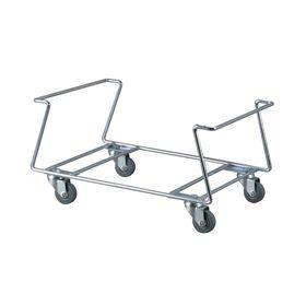 Подставка под корзины, с поворотными колесами Ош
