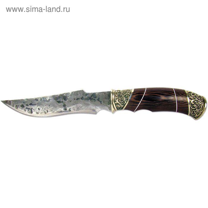 """Нож нескладной """"Кардинал"""" (8014)9хс, рукоять-венге, сталь 9хс"""