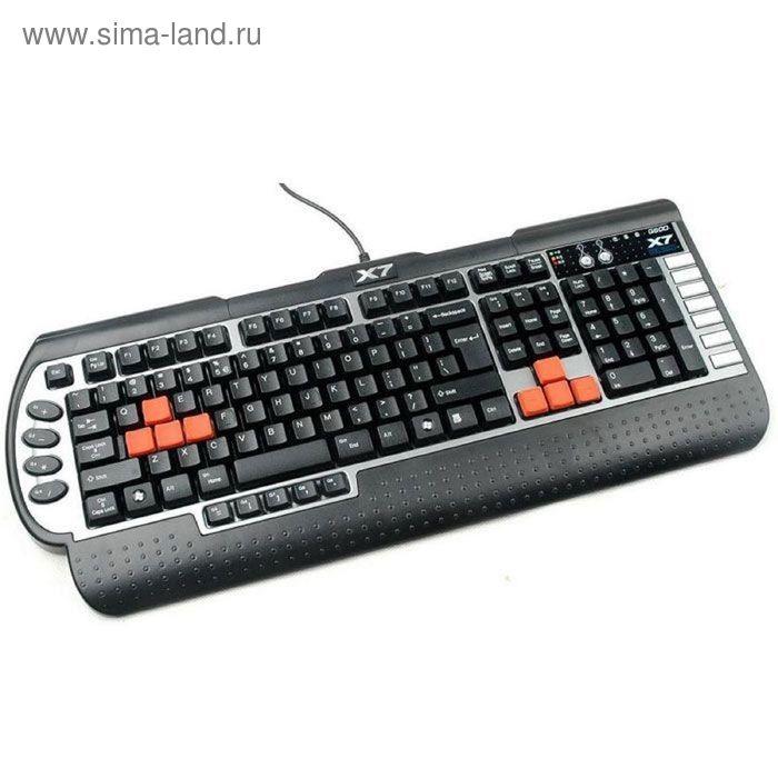 Клавиатура A4 G800V, черный