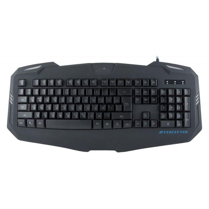 Клавиатура Oklick 730G, черный, USB