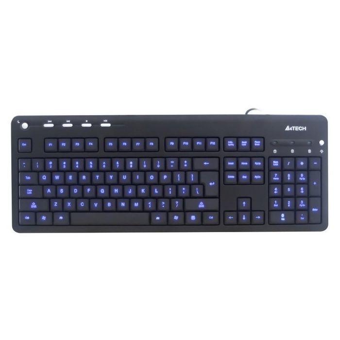 Клавиатура A4 KD-126-2, черный, USB