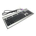 Клавиатура A4 KLS-7MUU, серебристый/черный, USB