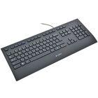 Клавиатура Logitech K280e, проводная, мембранная,  103 клавиши, USB,  черный